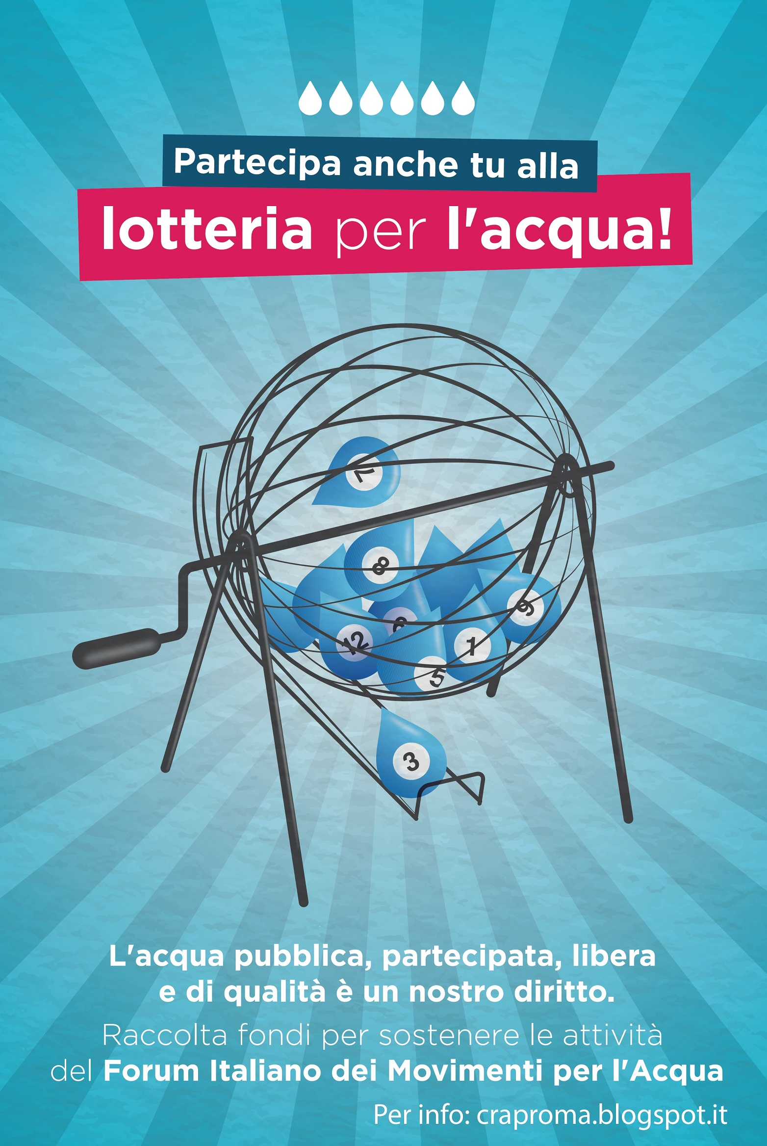 Flyer A5 lotteria Ass. ABC Onlus 2018 fronte