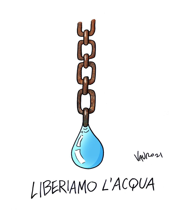 Vignetta acqua Vauro