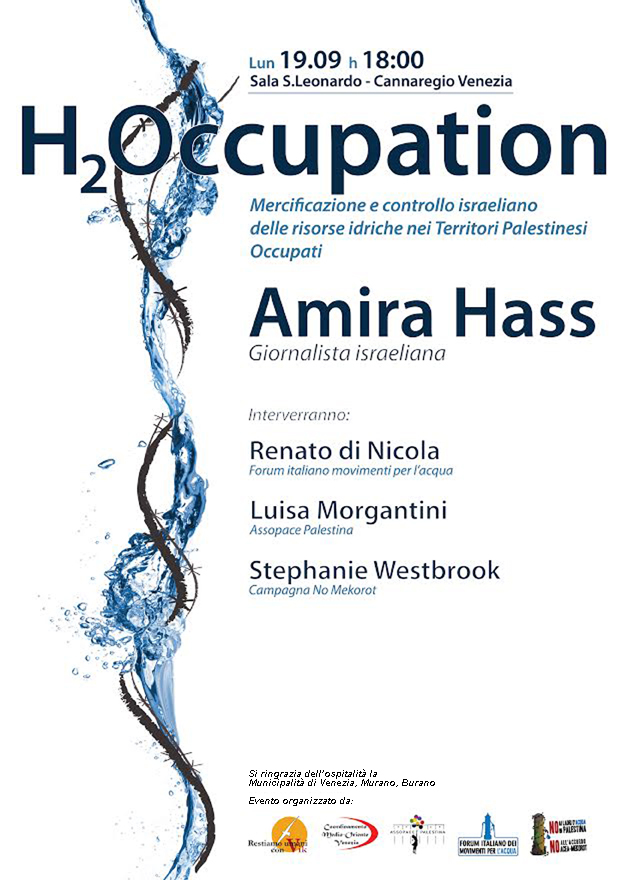 Locandina H2occupation Venezia 19-9-16