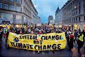 System change not climate chenge