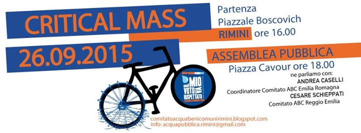 Rimini Critical Mass 26-9-15
